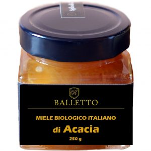 Miele Biologico 100% Italiano Balletto – ACACIA 250g