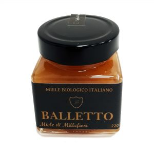 Miele Biologico 100% Italiano Balletto – MILLEFIORI 250g